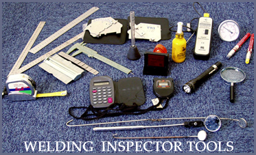 Welding Training Inspector Tools